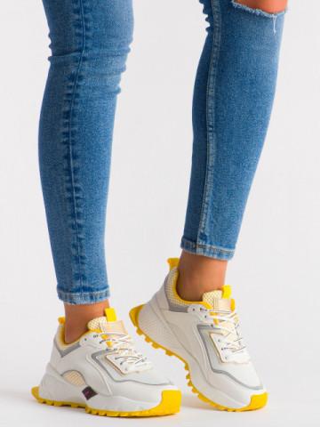 Pantofi sport cod LLS-005 Yellow