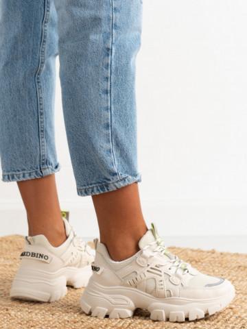 Pantofi sport cod M21 Beige