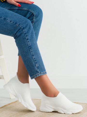 Pantofi sport cod NB399 White