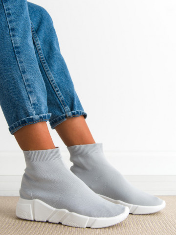 Pantofi sport cod R635 Grey