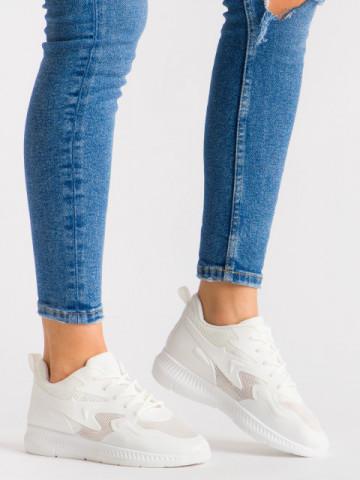 Pantofi sport cod WNH1 White