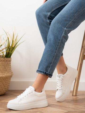 Pantofi sport cod X-2931 White