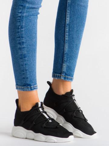 Pantofi sport cod YQ50 Black/White