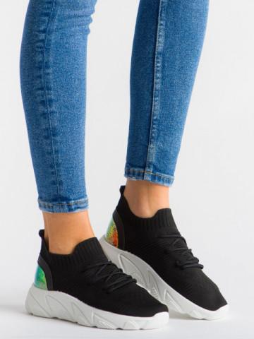 Pantofi sport cod YQ61 Black/White