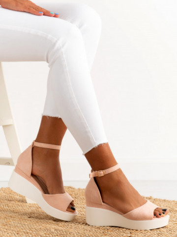 Sandale cod A21-17 Pink