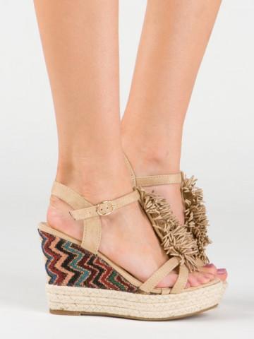 Sandale cod AQ1450 Beige