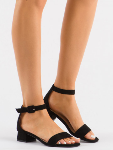 Sandale cu toc cod 3008 Black