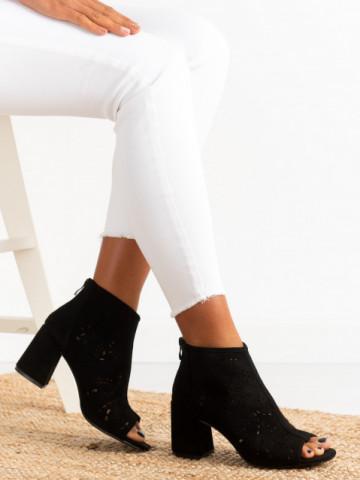 Sandale cu toc cod BL00092 Black