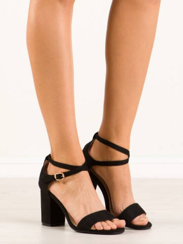 Sandale cu toc cod OP09 Black