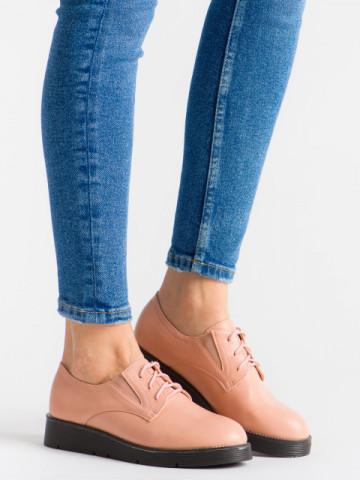 Pantofi casual cod EK0090A Dusty Pink