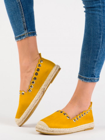 Espadrile cod GD7237-26 Yellow