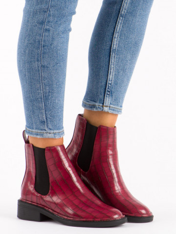 Ghete cod OD0277 Wine Red