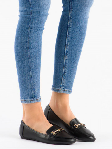Pantofi casual cod 9F176 Black
