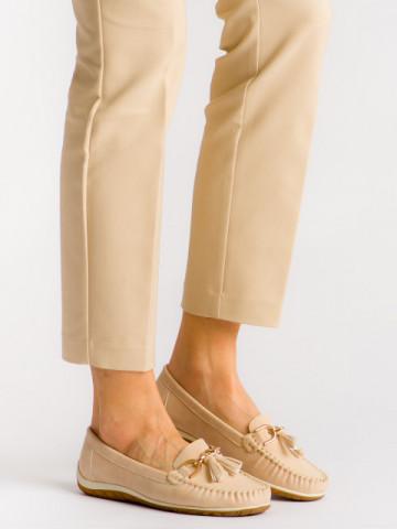 Pantofi casual cod MDM197 Beige