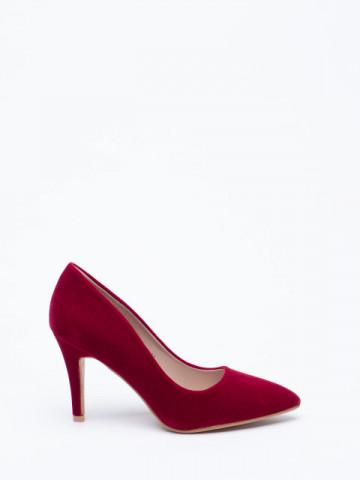 Pantofi cu toc cod 20-26A Red