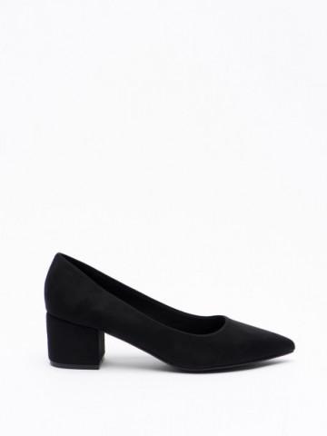 Pantofi cu toc cod A-3370 Black
