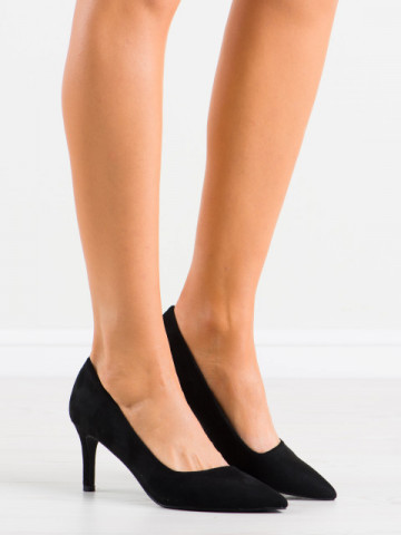 Pantofi cu toc cod AF05 Black