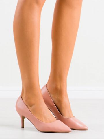 Pantofi cu toc cod K308 Nude