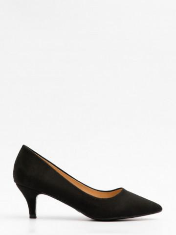 Pantofi cu toc cod L387 Black