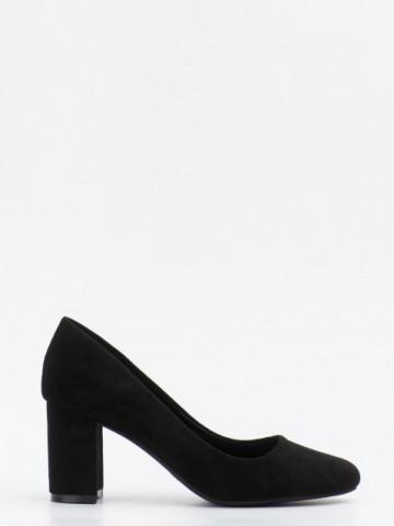 Pantofi cu toc cod LL239 Black