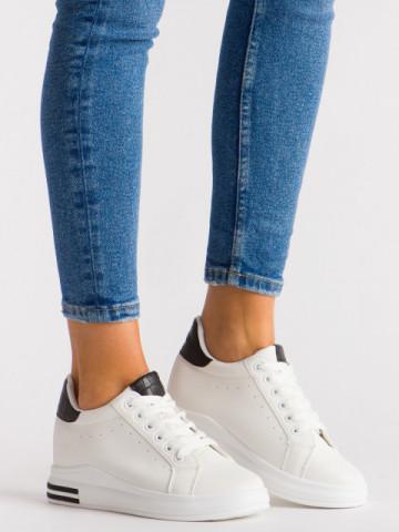 Pantofi sport cod 1061 White/Black