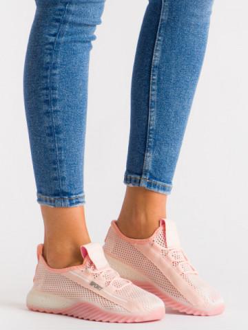 Pantofi sport cod 1603 White/Pink