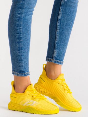 Pantofi sport cod 1660 Yellow