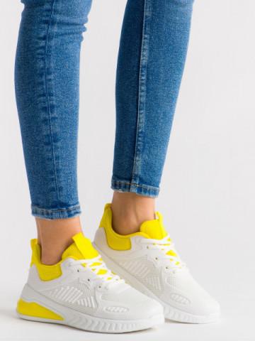 Pantofi sport cod 1982-5Y Yellow