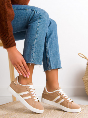 Pantofi sport cod 476 Beige