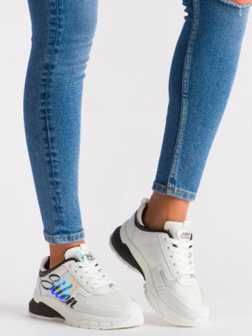 Pantofi sport cod 5818 White