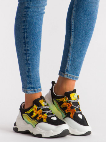 Pantofi sport cod 5819 Black