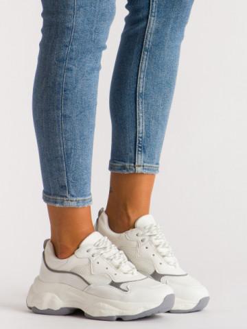 Pantofi sport cod A1106 White