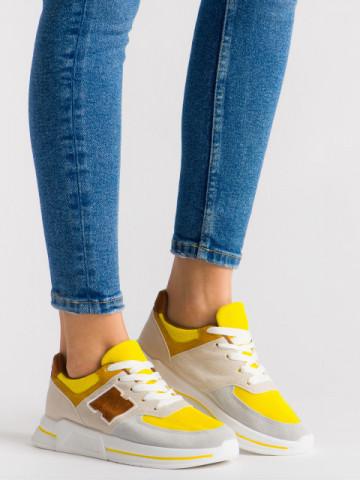 Pantofi sport cod ABC-311 Yellow