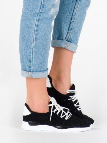 Pantofi sport cod BK-95 Black