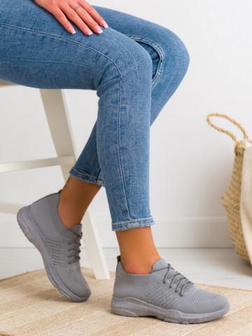 Pantofi sport cod C9239 Gris