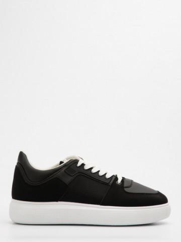 Pantofi sport cod D858 Black