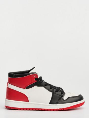 Pantofi sport cod D883 White/Red