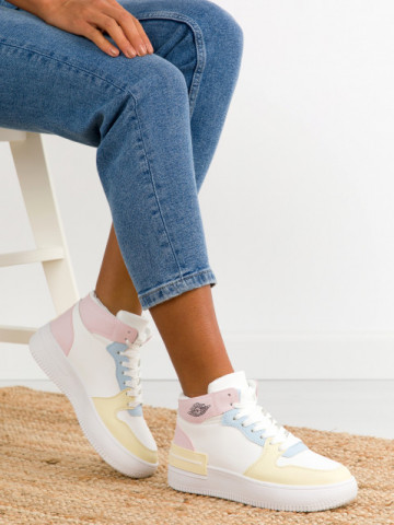 Pantofi sport cod GY619 Pink