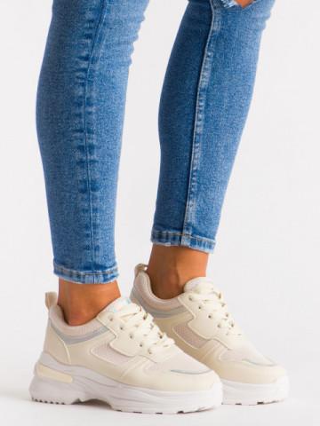 Pantofi sport cod H5 Beige