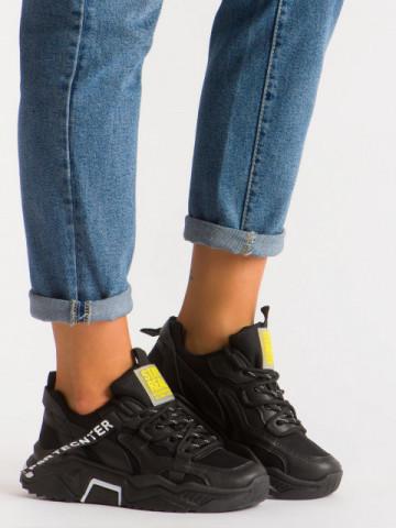 Pantofi sport cod K06 Black