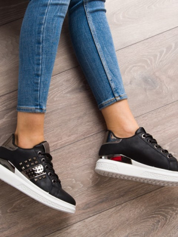 Pantofi sport cod KB056 Black