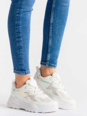 Pantofi sport cod KR-001 White