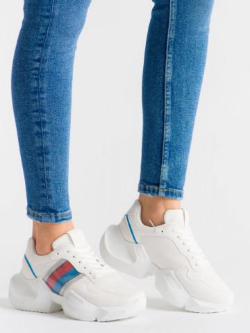 Pantofi sport cod LLS-003 White