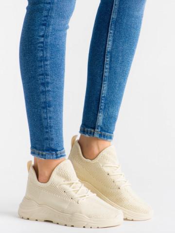 Pantofi sport cod LLS-010 Beige