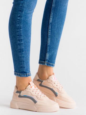 Pantofi sport cod N68 Pink