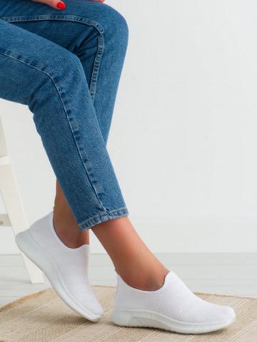 Pantofi sport cod NB393 White