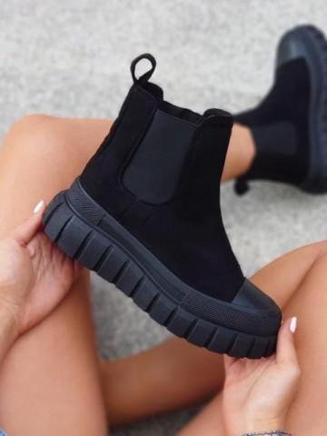 Pantofi sport cod S068 Black