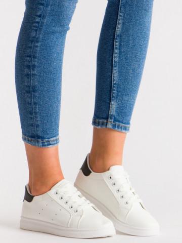 Pantofi sport cod T10 White