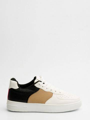 Pantofi sport cod W-1 White/Black