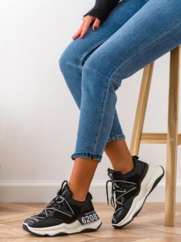 Pantofi sport cod W6607 Black